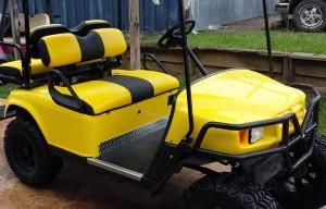 Custom Golf Cart Seats